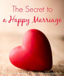 the secret to a happy marriage abundant