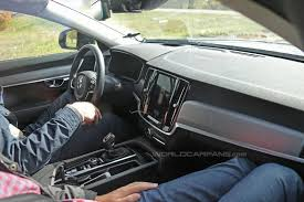 volvo xc60 interior 2017 spy shots here u0027s our first glimpse at the interior of the new