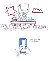 castle crashers battle block theater by cicada sofer on deviantart