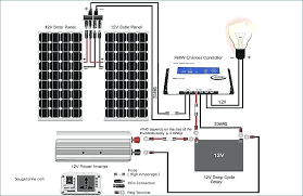 wiring diagram for solar panel grid solar power systems circuit