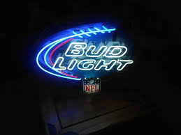 bud light nfl neon sign bud light nfl neon sign collectibles in san diego ca