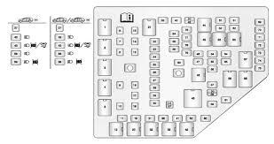 cadillac cts mk2 second generation 2011 u2013 2014 u2013 fuse box