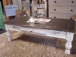 rustic grey coffee table rustic distressed coffee table