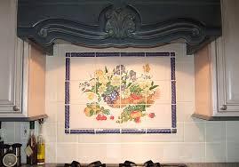 Murals For Kitchen Backsplash Tile Mural Kitchen Backsplash Home Design Inspiration