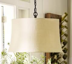 Pottery Barn Mason Jar Chandelier Drum Pendant Replacement Shades Pottery Barn