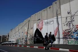 trump wall love inspires mocking graffiti on israel s bethlehem trump wall love inspires mocking graffiti on israel s bethlehem barrier