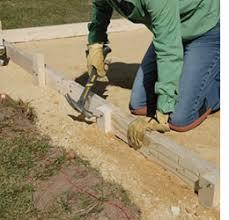 home dzine home diy how to lay a diy concrete patio