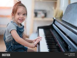Living Room Song Little Play Piano And Sing A Song In Living Room Music Kid