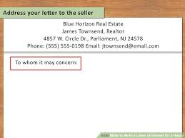 letter of intent real estate canada letter of intent to purchase
