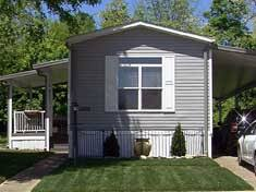 Mobile Home Carport Awnings Dacraft Dayton Ohio Mobile Home Products Roofing Patio
