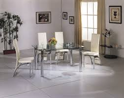 glass and chrome dining table java extending glass chrome dining table and chairs furniture italia