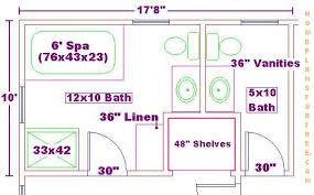 Bathroom Floor Plans 8 X 12 Master Bathroom Floor Plans Closetss Home Xmas