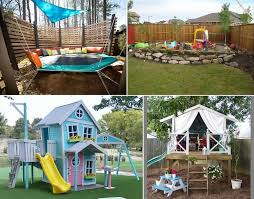 12 super cool ideas for a backyard kids u0027 play area
