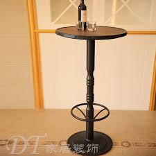 Pedestal Bar Table Charming Tall Round Bar Table With 42 Inch Tall 36 Inch Round Top