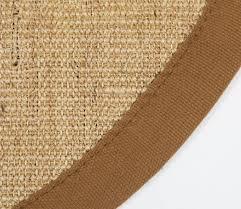 Round Sisal Rugs by Sisal Rug Round Brown