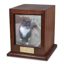 cat urn photo wood pet urn memorial gallery pets