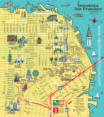 san francisco map detailed san francisco city tourist maps pictures california map cities