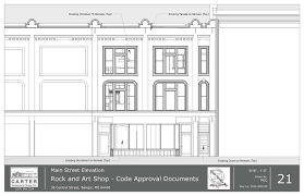 rock and art shop apartments carter architectural design