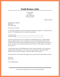 credit dispute letter template world of letter u0026 format