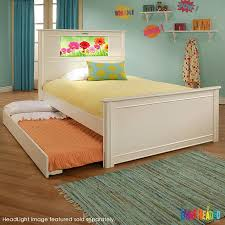 Full Bed With Trundle Lightheaded Beds Riviera Full With Trundle White