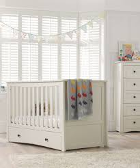 Silver Cross Nostalgia Sleigh Cot Bed Mothercare Harrogate Cot Bed Almond Cot Bedding Cots And Nursery