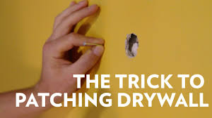 how to patch a hole in drywall and texture walls youtube