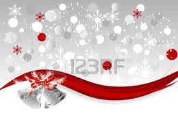 abstract background with silver bells royalty free cliparts
