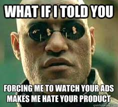 Advertising Meme - how s your pre roll ad performing we pro144 digital marketing