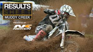 ama results motocross results sheet muddy creek motocross feature stories vital mx