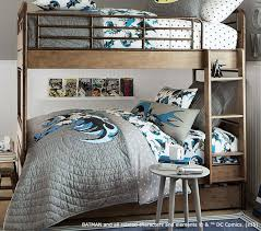 Pottery Barn Iron Bed Batman Superman Bedding Toys For Kids