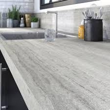 plan de travail cuisine effet beton plan de travail stratifié bois inox au meilleur prix leroy