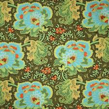 Amy Butler Home Decor Fabric by Amy Butler Belle Gothic Rose Blue Fabric Emerald City Fabrics