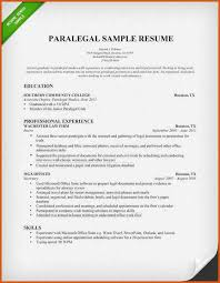 Examples Of Paralegal Resumes by Paralegal Cover Letter General Resumes