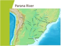 parana river map chapter 9 from the andes to the amazon ppt