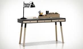 mettre favori sur bureau bureau design gris graphite en bois avec tiroirs lori vox