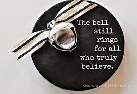 serendipity refined blog polar express bell quote ornament