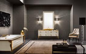 Art Deco Flooring Ideas by Bathrooms Design Bath Shower Black White Gray Wood Vanity Art