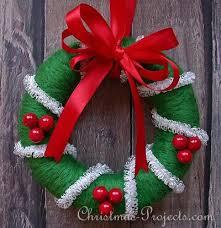 styrofoam wreath christmas craft project needle felted styrofoam christmas wreath