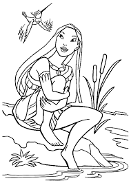pocahontas coloring pages coloring pages kids