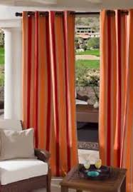 Outdoor Curtains With Grommets Sunbrella Outdoor Curtains Ebay