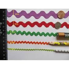 rick rack ribbon ric rac 3 metre length 30 colours