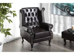 siege capitonné fauteuil baroque capitonne william marron