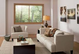 Livingroom Windows by Living Room With Modern Furniture And Sliding Window Awesome