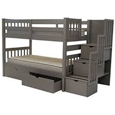 Bunk Bed Pictures Bedz King Stairway Bunk Beds With 3