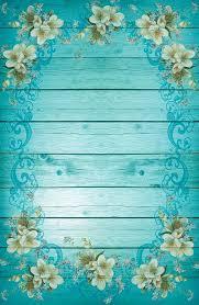 turquoise flowers turquoise blue frame free image on pixabay