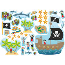 pirate wall stickers choice image home wall decoration ideas