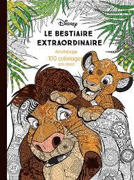 Livre Le bestiaire extraordinaire 100 coloriages antistress
