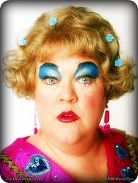 Meme Drew Carey - kathy kinney mimi someone should have told her she was wearing