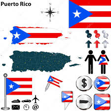 Map Of Puerto Rico Map Of Puerto Rico U2014 Stock Vector Sateda 40882457