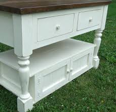 Antique White Sideboard Buffet by Beautiful Distressed Antique White Kitchen Island Sideboard Buffet
